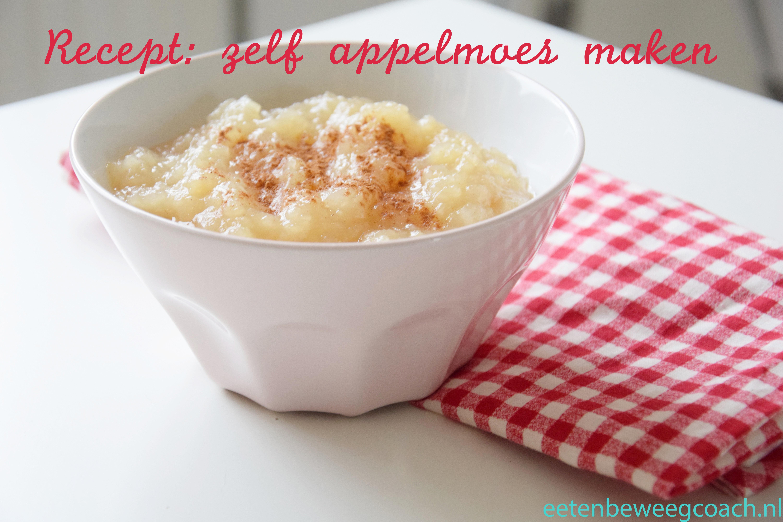 Herfst recepten #1 – zelf appelmoes maken