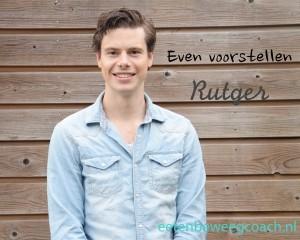 Voorstellen beweegcoach Rutger