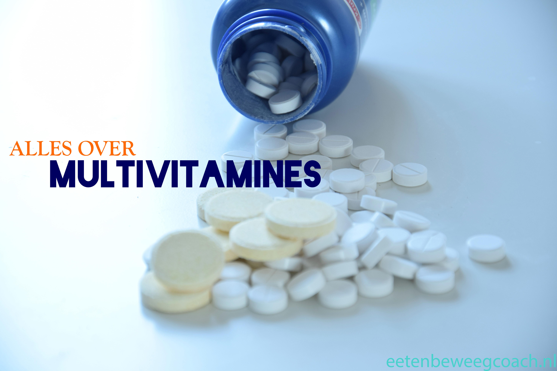 Multivitamines, gezond en noodzakelijk?