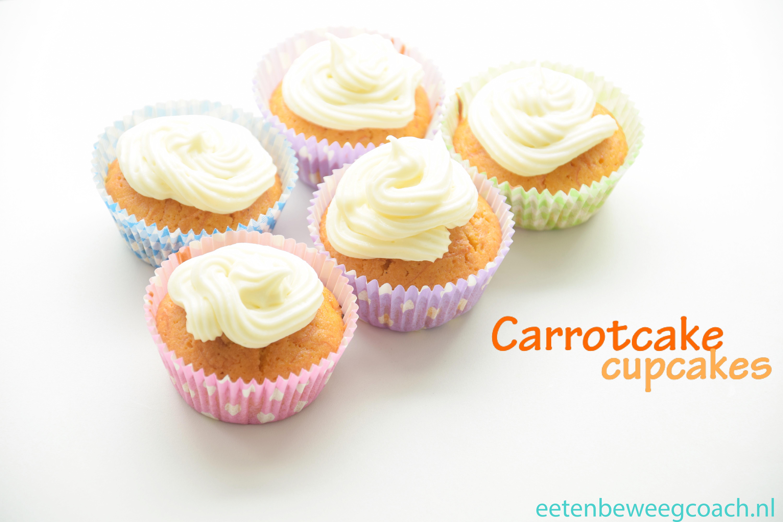 Recept: Carrotcake cupcakes