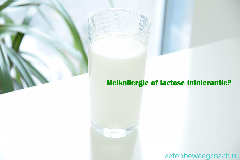 Melkallergie of lactose-intolerantie?