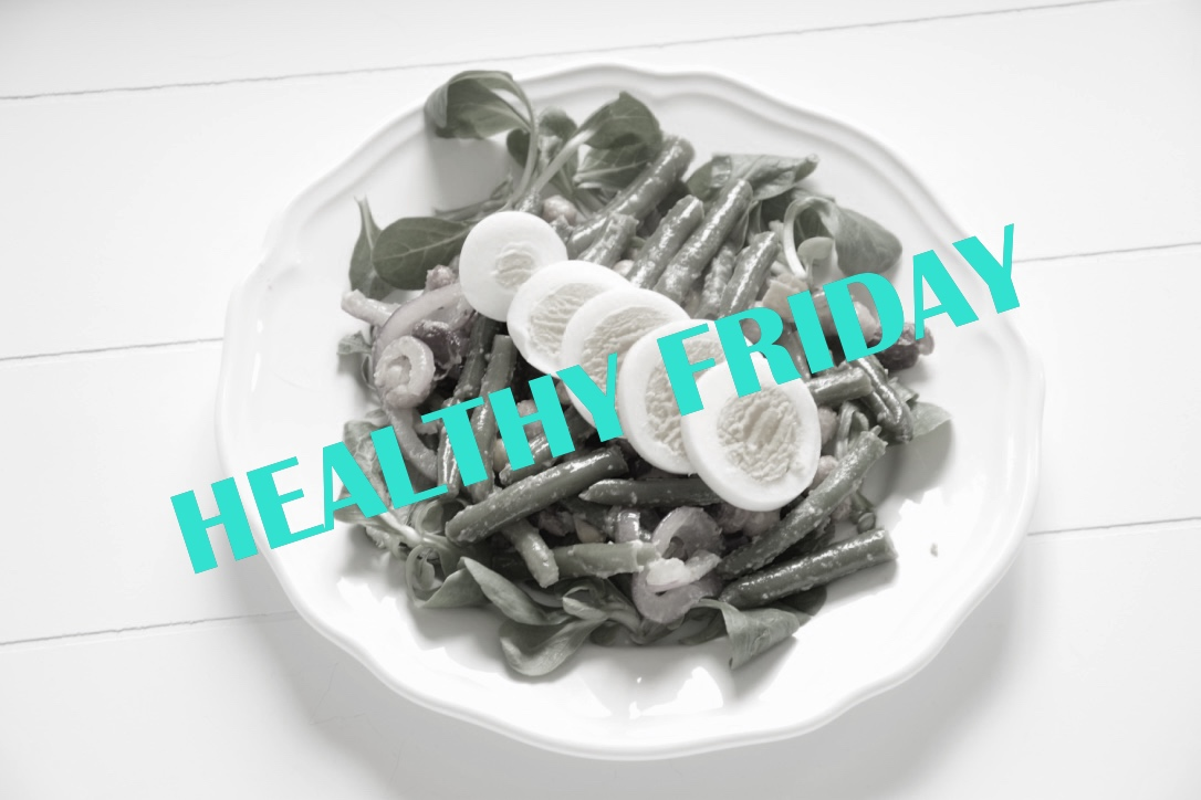 Healthy Friday: salade met ei en bonen