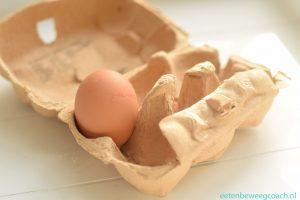 eggs, eieren in doos